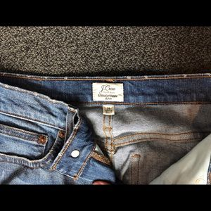 J. Crew Jeans - JCrew StraightAway crop jeans